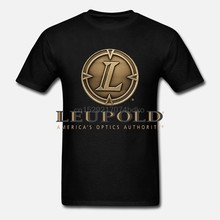 Baru Leupold Optik Riflescope Militer Berburu Taktis Putih T-Shirt Ukuran S-5Xl(China)