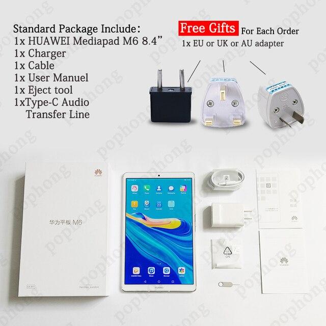 Original Huawei Mediapad M6 8.4 inch tablet PC Kirin980 Octa Core Android 9.0 Google play 6100mAh Huawei Gaming tablet Computer, Office & Security