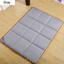Children's Thicker Mattress Home Warm Foldable Single Mattress Dormitory Mattress Bread Lattice Shape