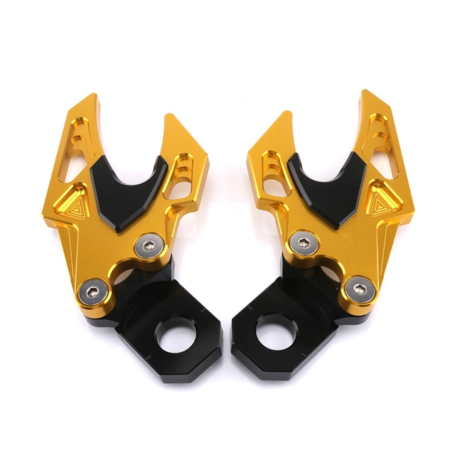 Aluminum Alloy Rear Wheel Axel Protection  4
