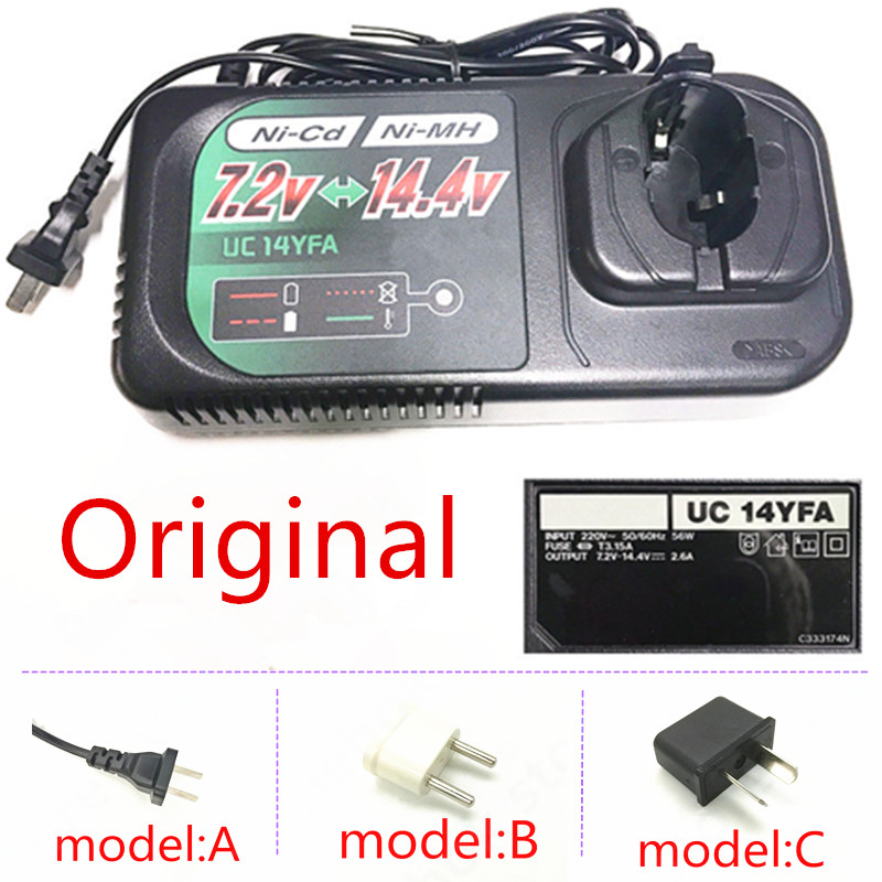 UC14YFA Charger For HITACHI 7.2V 9.6V 12V 14.4V BCC715 BCC915 EB9B BCC1215 EB1220BL BCC1415 EB14B Power Tool Accessories Tools