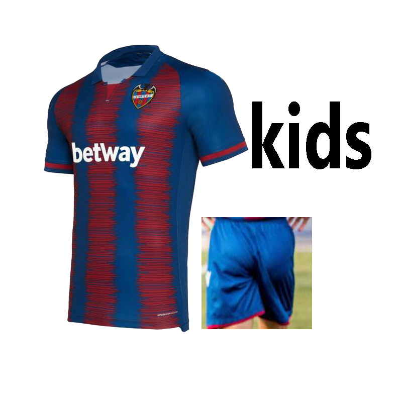 2019 For Kids Levante UD Casual Shirts 2019 2020 Levante Futbol Camisa Casual Leisure Best Quality T-shirts