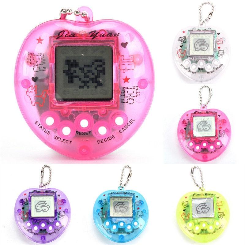 1 шт. прозрачный электронные питомцы тамагочи 90S Ностальгический 49 Домашние животные в One виртуальный кибер-цифровой игрушки для домашних жи...