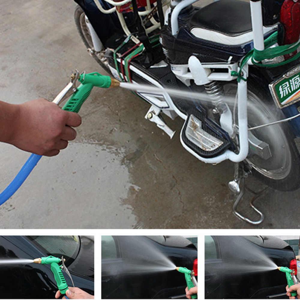 2018 Nieuwe Koperen Verstelbare Hogedruk Auto Wassen Waterpistool Hoofd Tuin Huishoudelijke Wassen Cleaning Machine Tool Accessoires