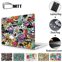Mtt macbook空気プロ11 12 13 15 16タッチmacbook air 13用funda漫画ラップトップスリーブa2179 a1932 a1466