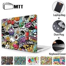 Mtt caso do portátil para macbook ar pro 11 12 13 15 16 barra de toque para macbook ar 13 funda dos desenhos animados portátil manga a2179 a1932 a1466