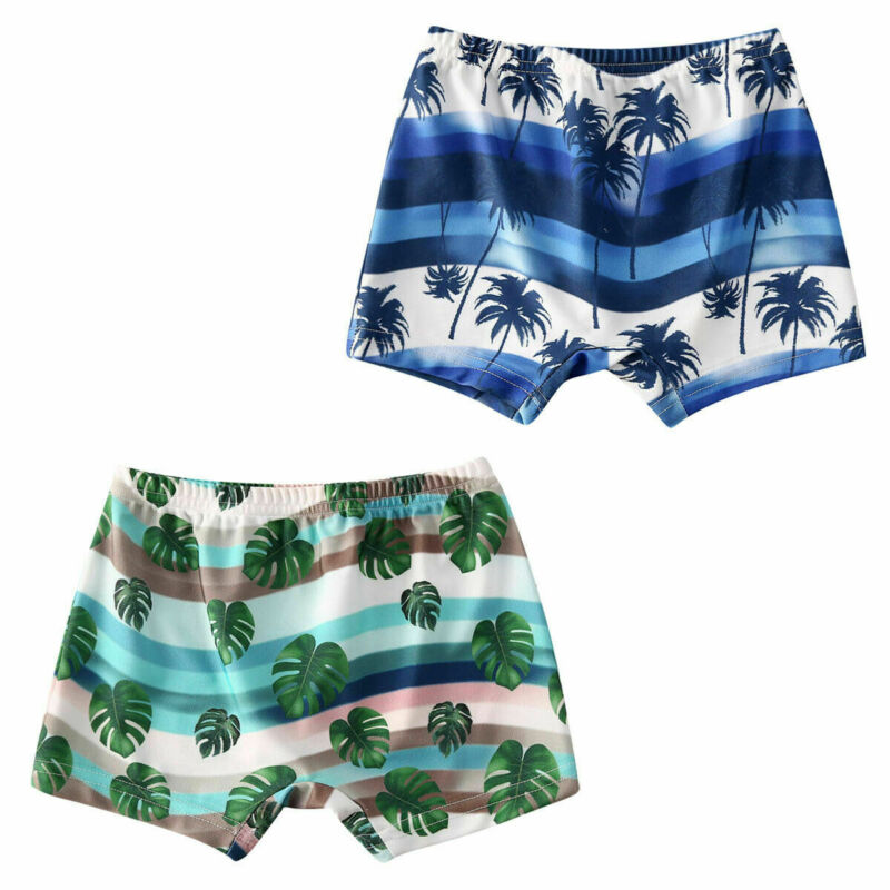 2020 Newest Arrival Summer Toddler Kids Baby Boy Floral Swimming Pants Beach Shorts Bottoms Panties Board Shorts 1