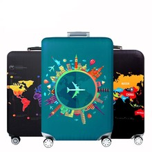 Thicker Travel Luggage Protective Cover Suitcase Case Accessorie Baggag Elastic Apply to 18-32inch