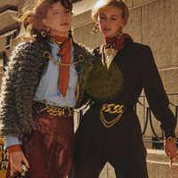 Dvacaman ZA édition limitée lien ceinture en cuir femmes charme cristal Maxi boucle ceintures taille bijoux 2019 Double onze accessoires