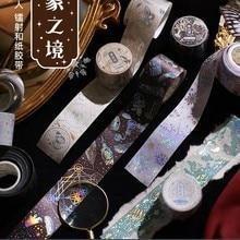 Starry Universe Snow Gold Foil Washi Tape 30mm Wide Japanese Masking Tape For Scrapbook  Journal Planner Arts Crafts