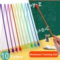 307 мм пальчиковые палочки для чтения Монтессори Обучающие аппараты раннее образование Обучающие игрушки дошкольные Обучающие инструменты ...