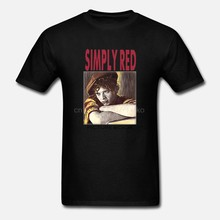 SIMPLY RED PICTURE BOOK MICK HUCKNALL POP SEAL SADE NEW GREY CHARCOAL T-SHIRT(China)