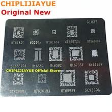 BGA reball stencil reballing para MTK série G1037 G1038 MTK6369 MT6582 MT6572A MT6592V MT6323GA MT6169V MT6735V MT6339A
