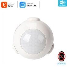 NEO Coolcam Sensor de movimiento PIR inteligente Wifi, Detector infrarrojo pasivo para automatización del hogar, sistema de alarma de casa