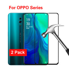 Protective Glass  For OPPO Reno 10X 2 2Z 2F X2 Pro Ace Screen Protector Anti-Scratch 2.5D Explosion Proof Tempered Glass