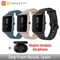 Глобальная версия Amazfit Huami Bip Lite, оригинальные Смарт-часы Xiaomi, gps, 45 дней, батарея глонесс, сердечный ритм, умные часы Huami