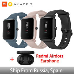Global Version Amazfit Huami Bip Lite Original Xiaomi Smart Watch GPS 45Days Long Battery Gloness Heart Rate Huami Smartwatch