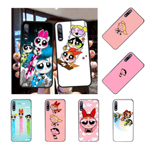 Nbdruicai Power Puff Powerpuff Gadis Hitam TPU Soft Phone Case Cover untuk Huawei P30 P20 P10 P9 P8 Mate 20 10 Pro Lite(China)