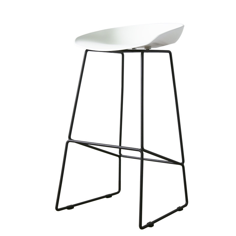 Bar Stool Metal Feet Nordic Bar Chair High Chair High Stool Bar Chair Bar Stool Bar Stool Simple