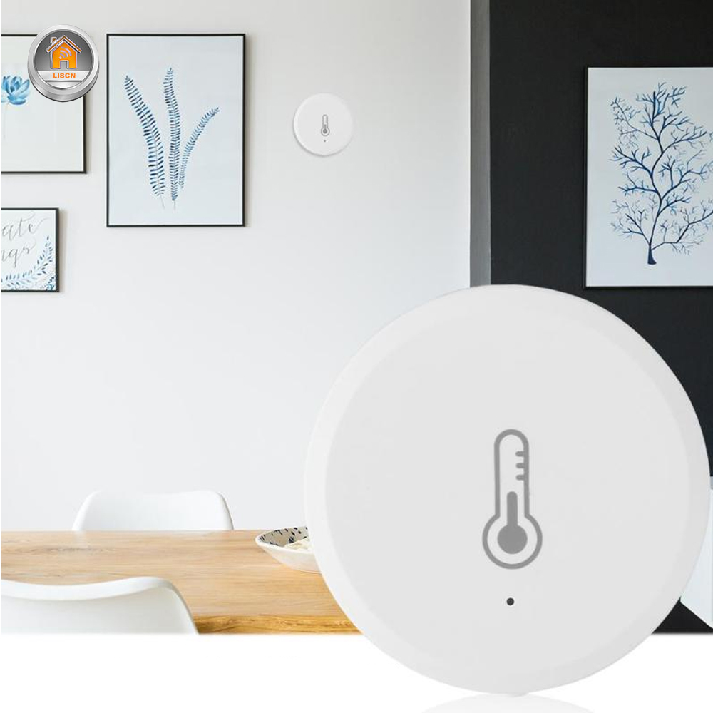 WiFi Smart Temperature Humidity Sensor Environment Air Pressure Wireless Control Mihome APP Zigbee Connection Smart Home