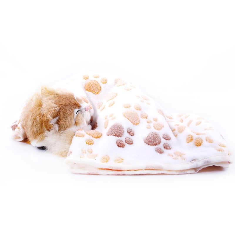 Lucu Hewan Peliharaan Selimut Hangat Kaki Towl Anjing Kucing Bulu Lembut Anjing Selimut untuk Anjing Peliharaan Kucing Hamster hedgehog Babi