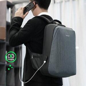Image 5 - Tigernu RFID sac à dos daffaires avec TSA serrure de voyage pour la Protection de la carte de bagages Anti vol sacs à dos hommes étanche 15.6 ordinateur portable