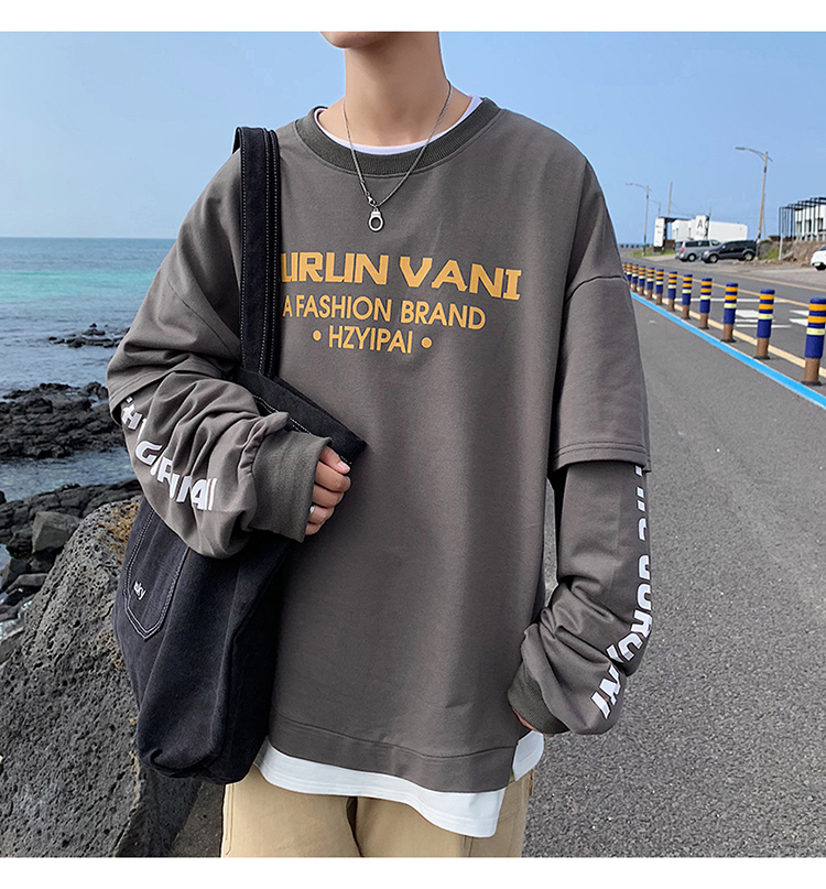 Letter Print Casual Hoodies