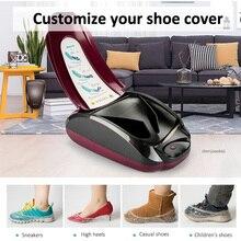 Интеллектуальная машина для изготовления пленки для обуви домашняя Автоматическая одноразовая машина для изготовления чехлов для обуви с использованием функции памяти 200 шт. Чехлы для обуви