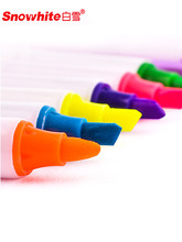 6 Pcs/set Fluorescent marker Candy color pen Flash pen Word pen Key point marker 6 colors Graffti Oily highlighters stationery 6 pcs lot candy color highlighters gel pen promotional gift stationery school