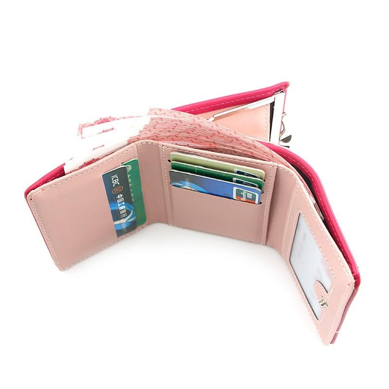 2020 Women's Wallet Short Wallets For Women Coin Purse Zipper Mouse Wallet Ladies Card Holder Luxury Small Clutch Wallets Bag