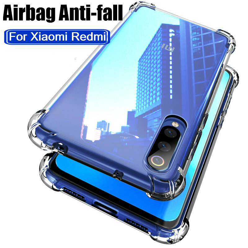 Airbag Anti-fall Phone Case For xiami redmi note 8 7 pro TPU Back Case For redmi 7 7a y3 Cover Cover note8 note7 note 8pro 7pro
