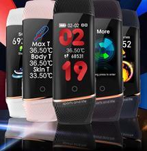New Arrival Termometro Digita Sport Smart Watch Ultrathin Waterproof Bluetooth Heart Rate Blood Pressure For  Xiao  Mi Samsung