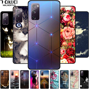 For Samsung S20 FE Case Silicone Soft TPU Phone Cover for Samsung Galaxy S20 FE Case Fashion Bumper on for S20FE S 20 FE 5G