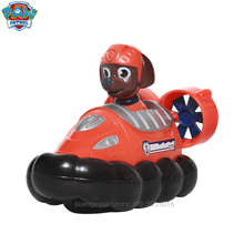 Paw patrol Zuma hovercraft Cartoon child toy factory authorized genuine dog team car set animal inertia