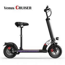 VenusCRUISER X40 przyjazny dla środowiska skuter elektryczny  szybki  mocny off road Riding Driving 500W składany rower z napędem w Skutery elektryczne od Sport i rozrywka na