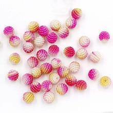 Креативные Свадебные украшения для невесты, сделай сам, цветок, шар, кристалл, грунт, градиент цвета, имитация восковой ягоды, бусины X'Mas, вечерние, домашний декор