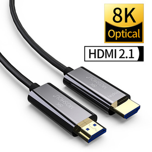 8K Optical Fiber HDMI 2.1 Cable ARC HDR 4K 120Hz MOSHOU High-Definition Multimedia Interface Cable for Samsung QLED TV Amplifier