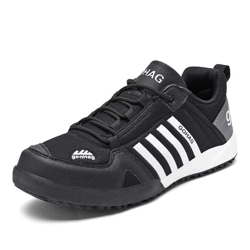 2021 New Outdoor Luxury Golf Sneakes Spring Autumn Spring Golf Trainers Shoes Men Anti Slip Spikless Golfing Footwear
