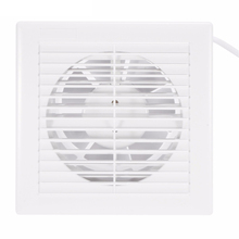 10W 220V 4 Inch Household Silent Extractor Exhaust Fan Windows Wall Mounted Air Ventilation Fans for Kitchen Bathroom Toilet Hot цена и фото