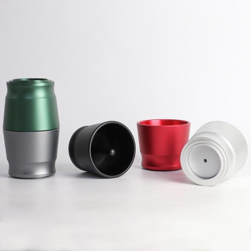 Умное Дозирующее кольцо из алюминиевого сплава для пивоваренных мисок 58 мм, инструмент для бариста, для взлома кофе и порошка