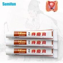 1/3/5 pces hemorróidas tratamento creme misturado externo & interno anal fissura alívio da dor pomada ervas chinesa cuidados de saúde