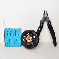 Varilla de enrollamiento de cable de calefacción A1 para cigarrillo electrónico, cortadora de cerámica, accesorios de pinzas