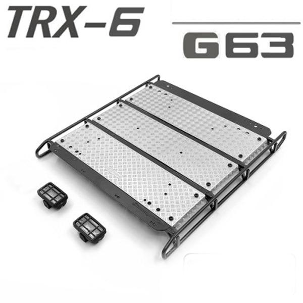 金属用の荷物ラック TRAXXASPARTS TRX 6 63 rc 部品パーツ & アクセサリー   -
