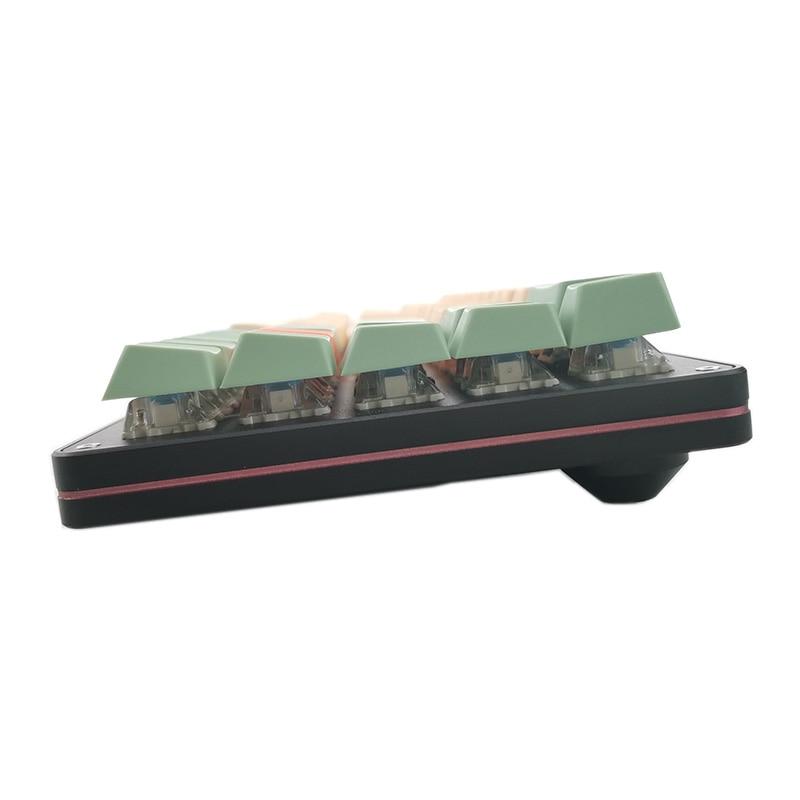 68 שני צבעים Idobao האנודה Shell מכנה ערכת מקלדת 68 מפתח ANSI פריסת PCB לתכנות Hot Plug PBT keycaps עבור משחק משרד (2)