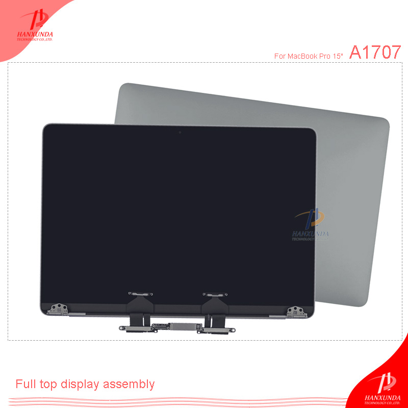 A1707 LCD HANXUNDA New Original Lcd Display Screen Assembly For Macbook Pro Retina 15.4'' Genuine Dispaly Assembly