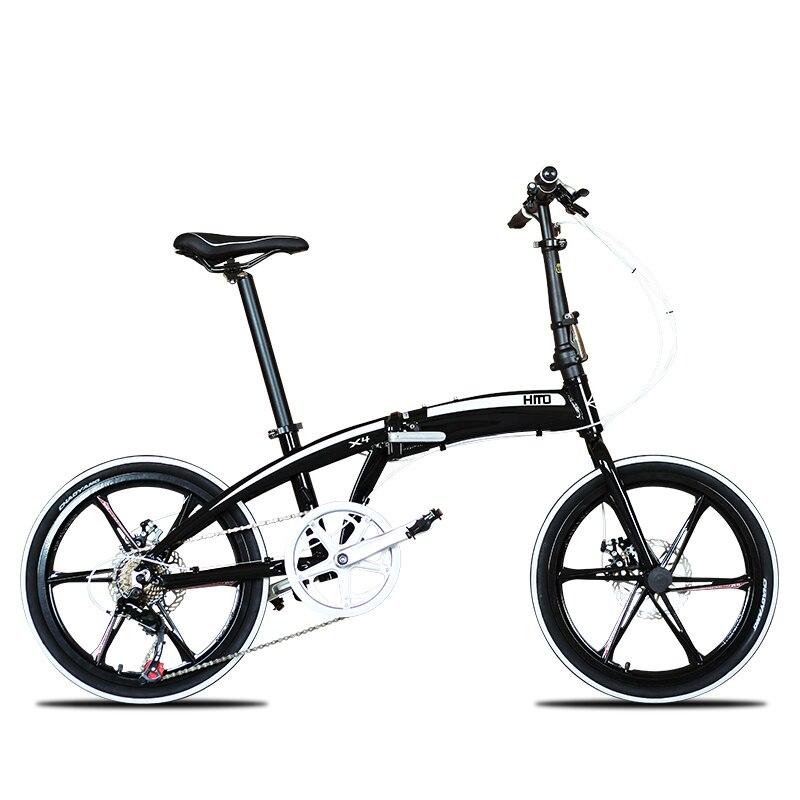 Новый бренд 20/22 дюймов рама из алюминиевого сплава 7 скоростей дисковый тормоз складной велосипед Открытый BMX bicicletas детский женский велосип...