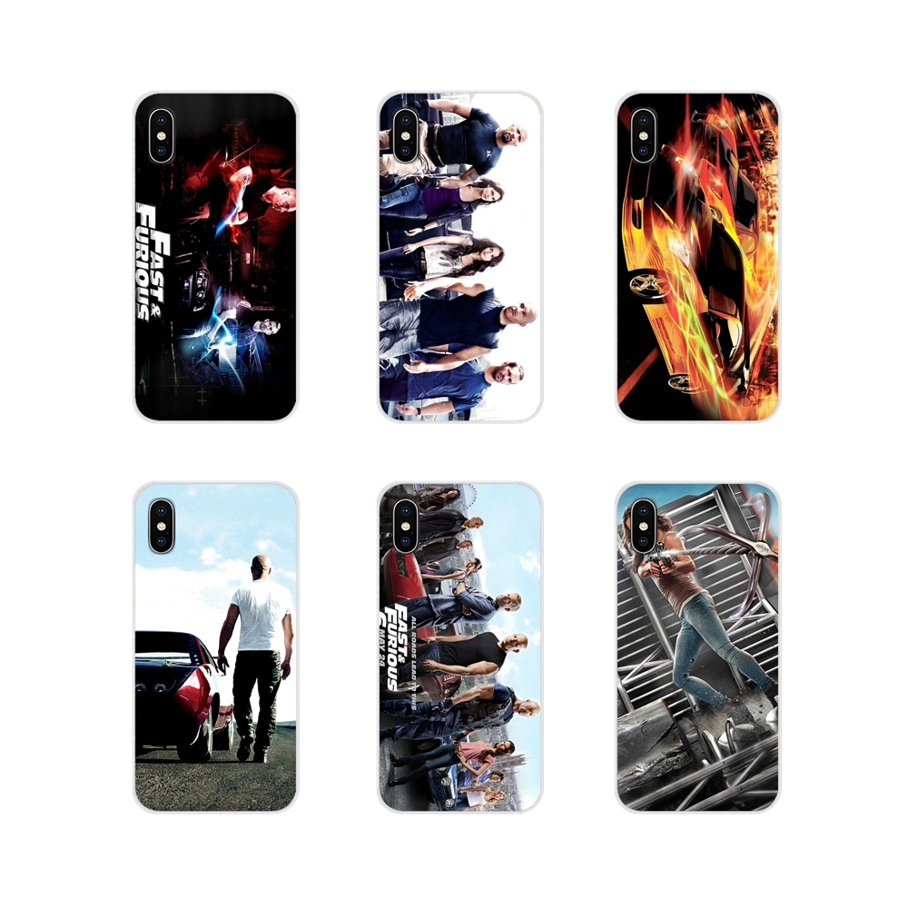 The Fast and Furious Accessories Phone Cases Covers For Apple iPhone X XR XS 11Pro MAX 4S 5S 5C SE 6S 7 8 Plus ipod touch 5 6