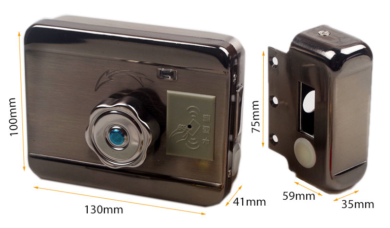 H0b6a69f7f88c4df8ace9ecd55138df29Q AA Dry Battery Easy Install Smart Lock RFID Electronic Locker Door Lock Wireless Rfid Electronic Battery Proximity Card Lock