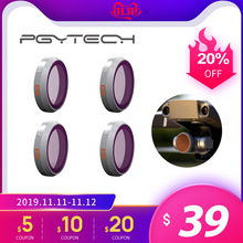 Pgytech dji mavic 2 ズームカメラフィルター nd ND8/16/32/64 pl フィルター mavic 2 ドローンカメラレンズアクセサリー
