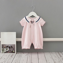 Baby Rompers Preppy Style Baby Girls Clothes